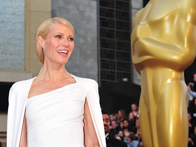 Gwyneth Paltrow arriving on the red carpet for the 84th Annual Academy Awards in Hollywood.