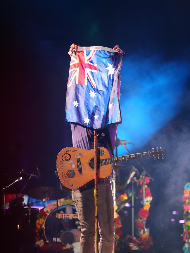 Coldplay tour dates in Brisbane