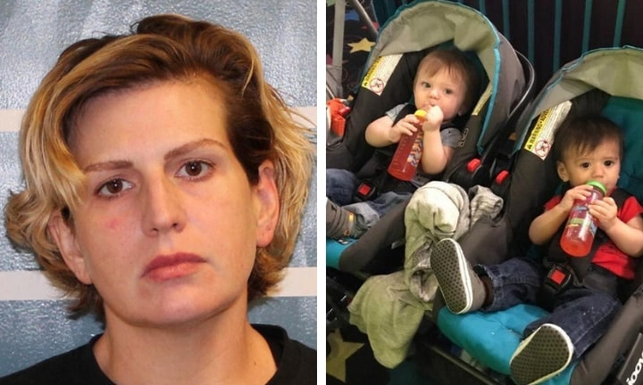 'Desperate' mum charged with drowning her twin 10-month-old boys in bath