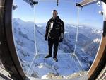 """<strong>3. Step into the Void <br /> </strong>  <p>After scaling the 3842m Aiguille du Midi on Europe's highest cable car, visitors can step out beyond the mountain and view Europe's highest mountain, Mont-Blanc, in the French Alps from this high-altitude glass box, which opened last year.</p>  <a href=""""http://www.compagniedumontblanc.co.uk/step-void-7366"""">compagniedumontblanc.co.uk</a>  <p>Picture: AP</p>"""