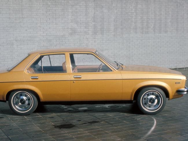 A beige Torana was KAK's first set of wheels.  <i>Source: Supplied</i>