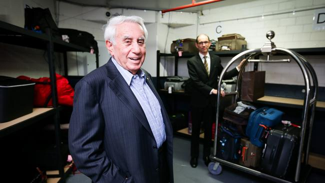 Property mogul Harry Triguboff has been ranked third on the Forbes list.
