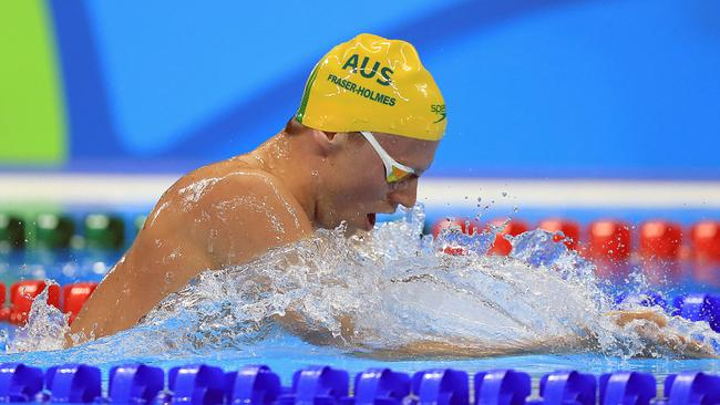 gold coast based olympic swimmer tom fraser holmes to take. Black Bedroom Furniture Sets. Home Design Ideas