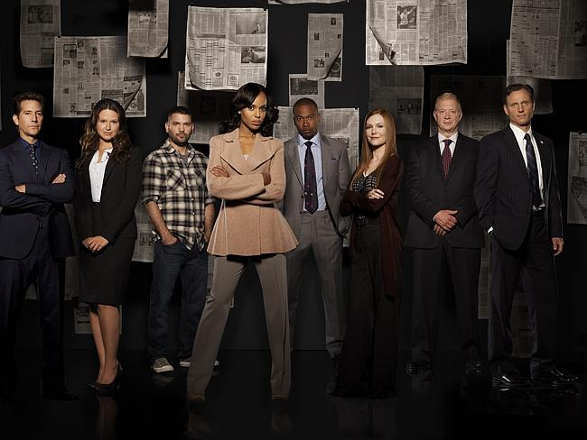 Gladiators ... Short, who played Harrison Wright, will not be returning to Scandal. Pictu