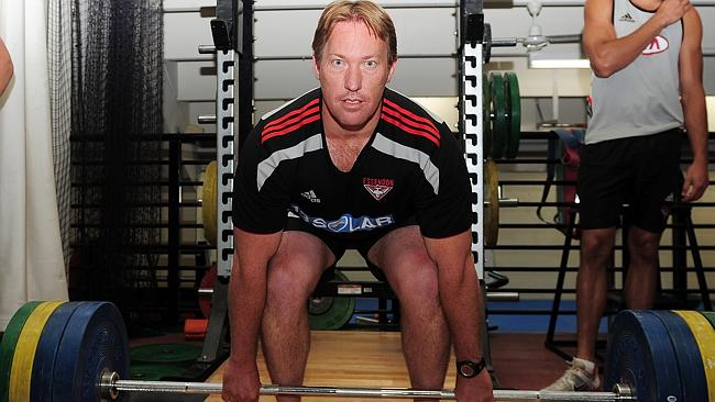 Former Essendon fitness chief Dean Robinson.