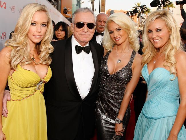 Hugh Hefner's ex-girlfriend Holly Madison reveals all ...