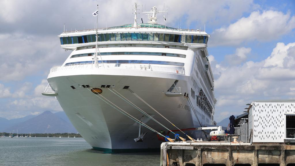 Cruise Ship Sea Princess Unable To Dock In Cairns Due To Rough - Where is the sea princess cruise ship now