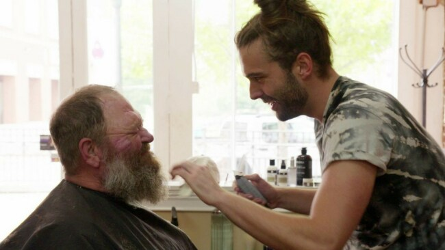 Jonathan and Tom in the salon. Photo: Netflix