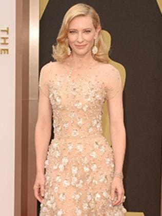 Cate Blanchett at the Oscars 2014.