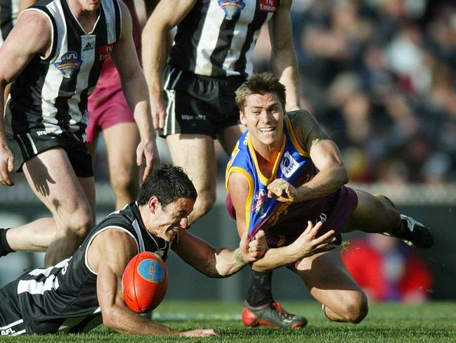 Brisbane's Simon Black was one of the best clearance players of his generation. Picture: Michael Klein.