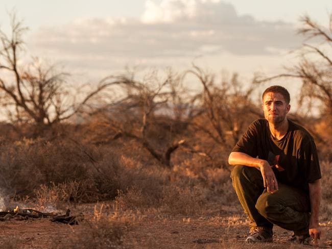 The simple life ... Robert Pattinson loved filming in the Australian outback.