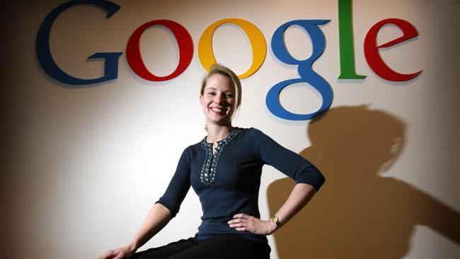 Marissa Mayer during her days at Google.