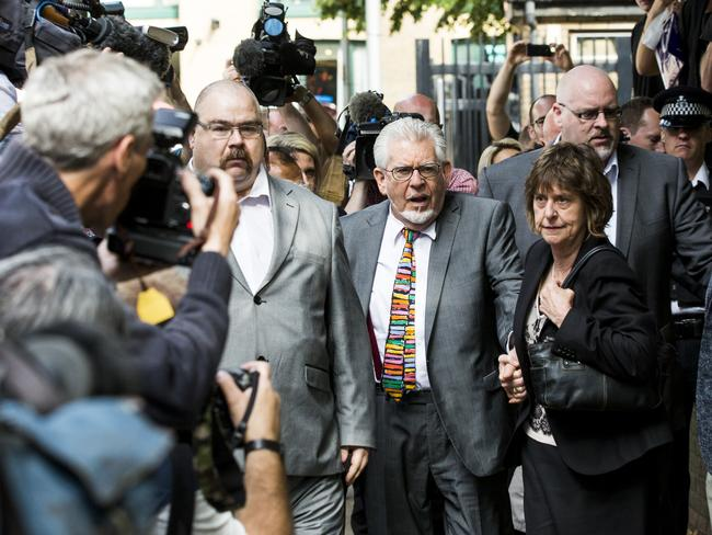 Rolf Harris is due for trial in January on eight further sex assault charges. Picture: Getty.