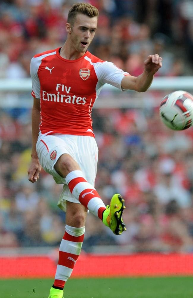Calum Chambers impressed for Arsenal against MAnchester City.