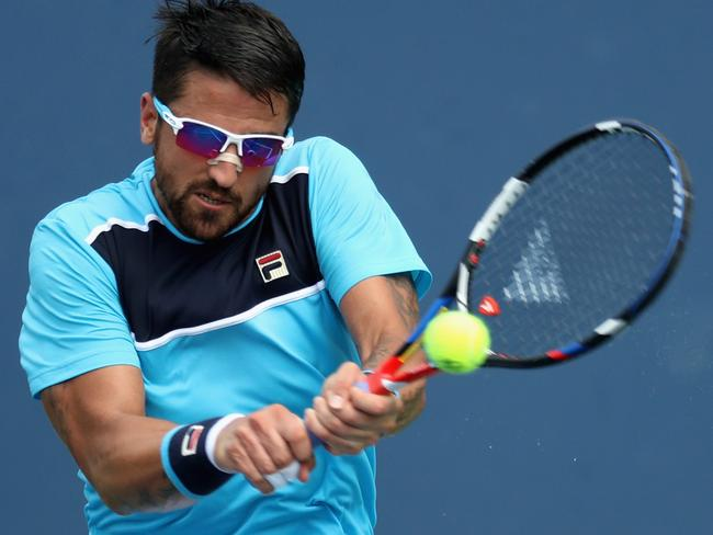 Janko Tipsarevic of Serbia. Picture: Rob Carr/Getty Images