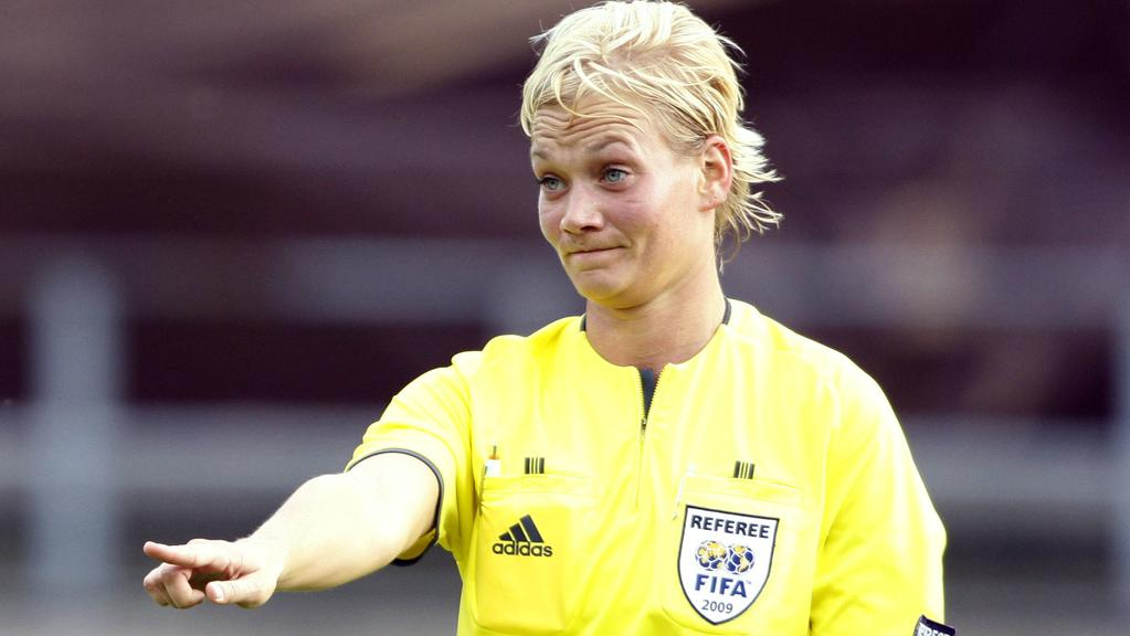 German referee Bibiana Steinhaus.