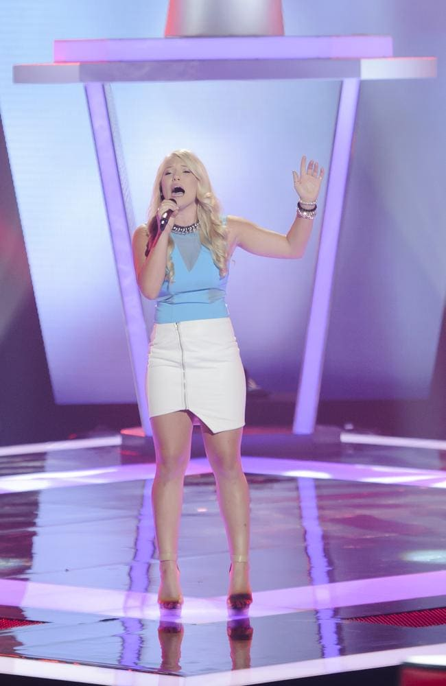 Girl next door Anja Nissen has been a dominant force on The Voice this season.