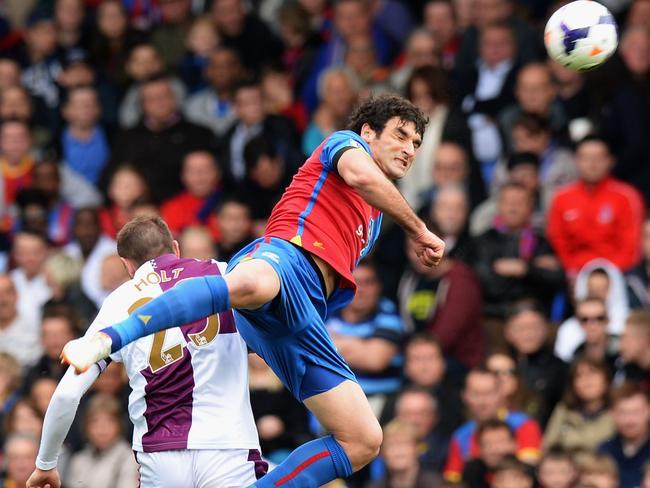 Mile Jedinak puts his body on the line against Aston Villa.