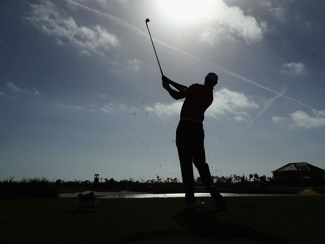 Tiger Woods ahead of the Hero World Challenge.