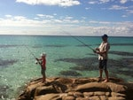 PARKS FOR PEOPLE: Fishing with my boy in Meelup, Naturaliste - God's country! Picture: Troy Lankford