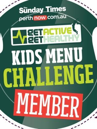 Eateries are being urged to join the challenge and overhaul kids menus.