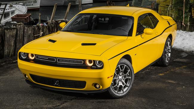 Reports out of the US say the next Dodge Challenger coupe and Charger sedan could be built in right-hand-drive. Picture: Supplied.