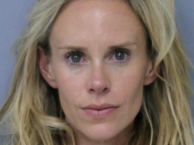 Krista Glover was arrested on charges related to domestic violence. (St. Johns County, Florida, Sheriff's Office via AP)