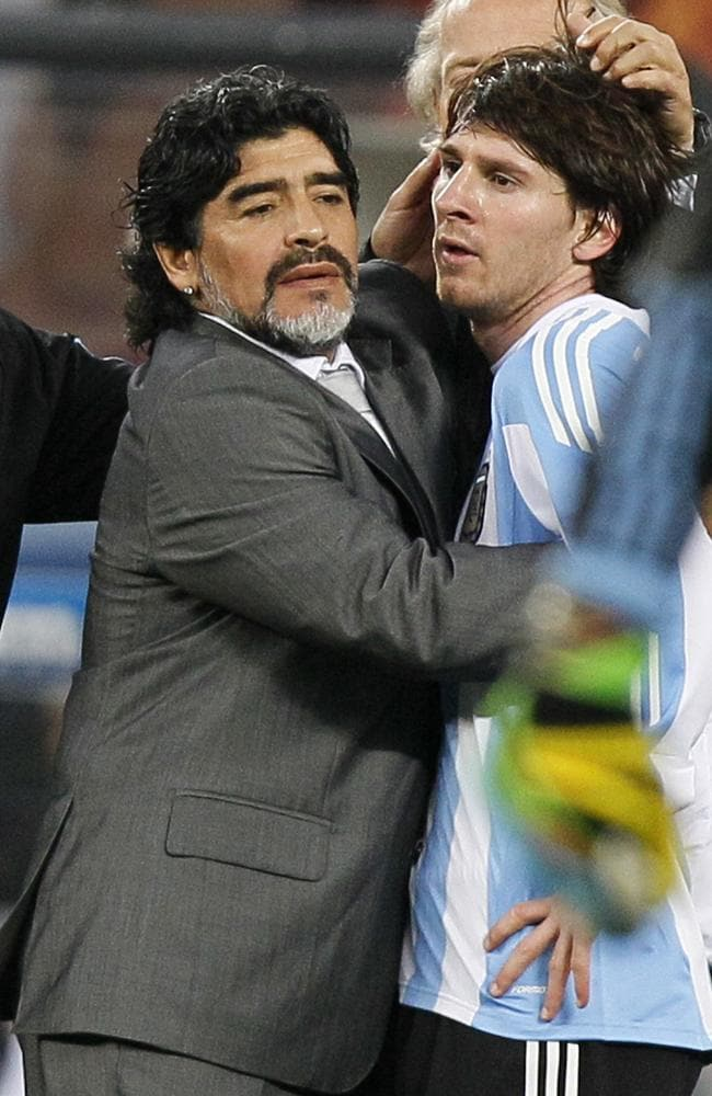 Messi gets the chance to emulate Argentina's icon.