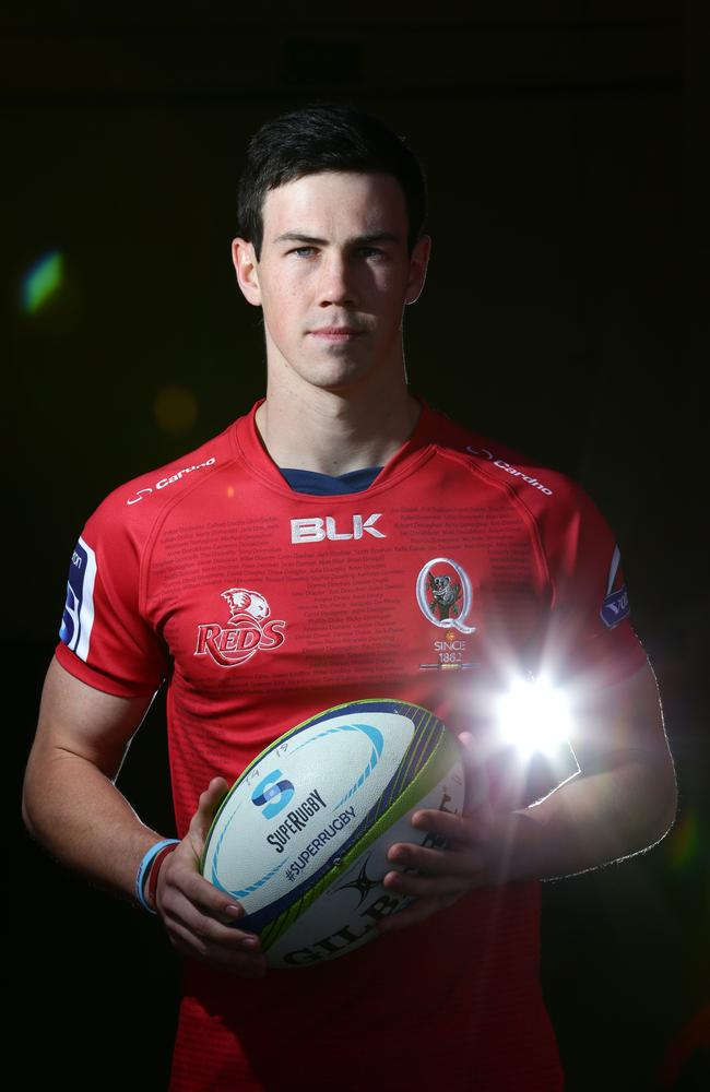 Rookie halfback Scott Gale will start for the Reds against the Waratahs.