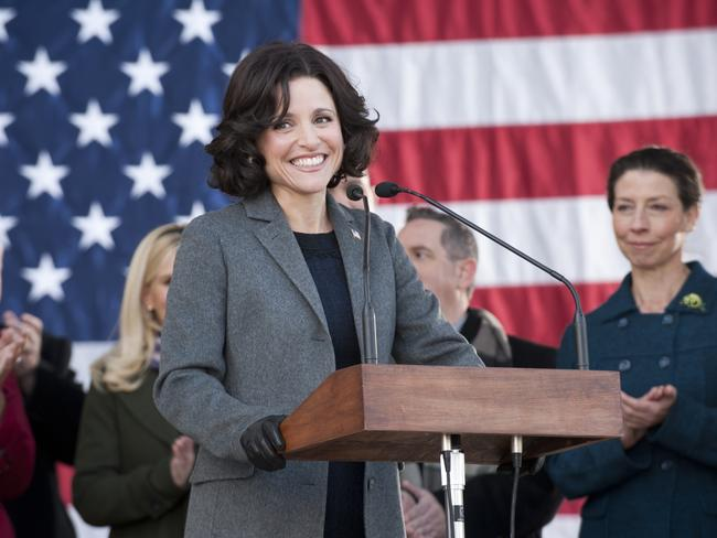 Julia Louis-Dreyfus in Veep.
