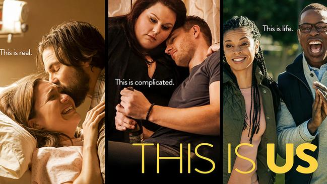 The promotional material for new US drama  <i>This Is Us</i>. Supplied by Channel 10