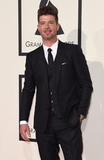 Robin Thicke attends The 58th GRAMMY Awards at Staples Center on February 15, 2016 in Los Angeles. Picture: AFP