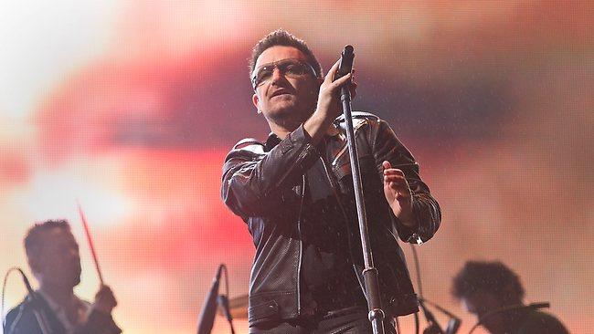 Irish rocker Bono