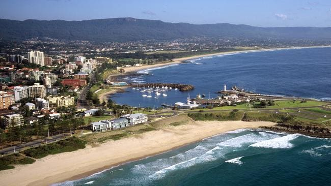 Prices in areas such as Wollongong are now increasing at a faster rate than in Sydney.