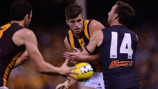 Ben Stratton's Hawthorn has had the wood over Brock McLean's Carlton over the past decade.