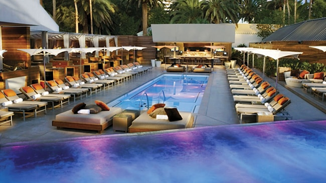 The Mirage nude pool. Picture: Supplied