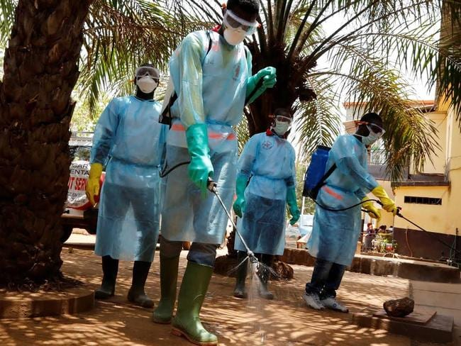 More than 800 people have died since the latest Ebola outbreak began in March. Picture: CATERS NEWS / PICTURE MEDIA