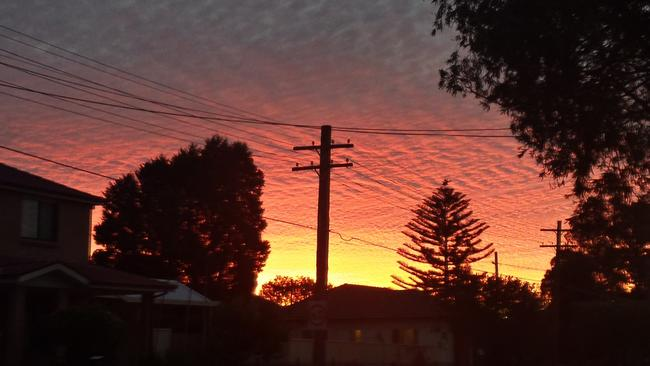 Sunset at Smithfield NSW. Tony.