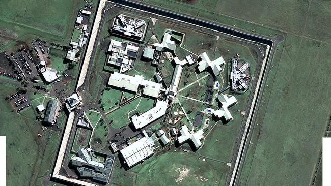 HM Barwon Prison from Google Earth maps.
