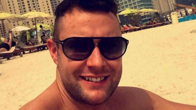 Jamie Harron has been stuck in Dubai for three months after being arrested on charges of 'public indecency'. Picture: Jamie Harron/Facebook