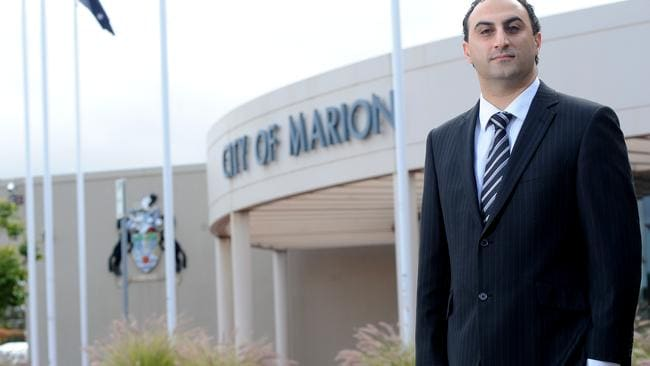 Marion Councillor Jason Veliskou has called for the phone crackdown.