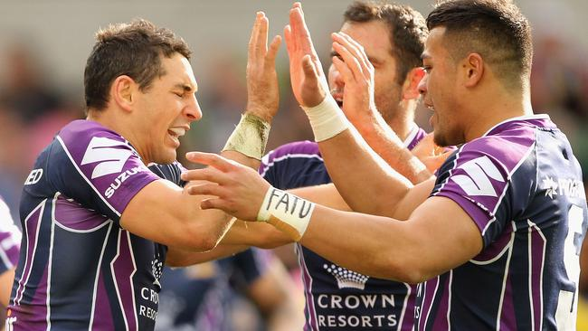 Billy Slater and Cam Smith had record breaking days.