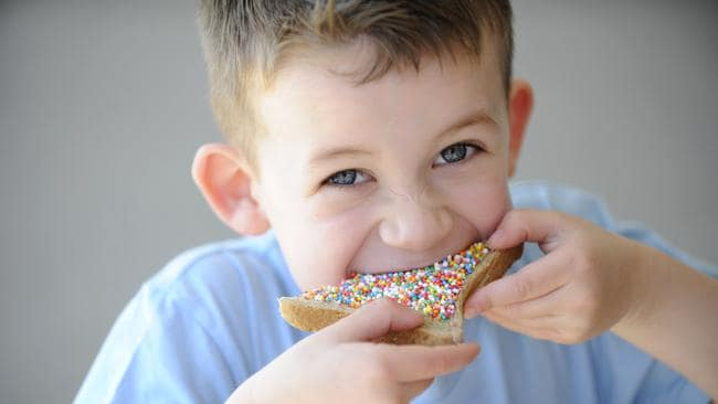 Have your mum serve fairy bread on wholemeal bread ... a sure-fire way to lose friends.