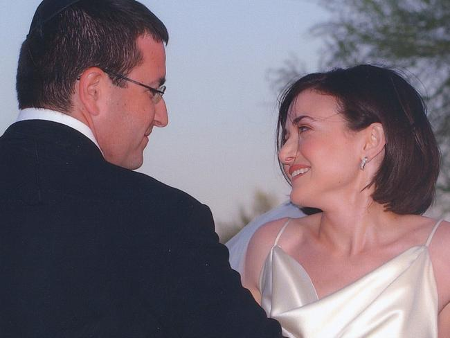 Huge loss ... David Goldberg and Sheryl Sandberg were married for 11 years. Picture: Supplied