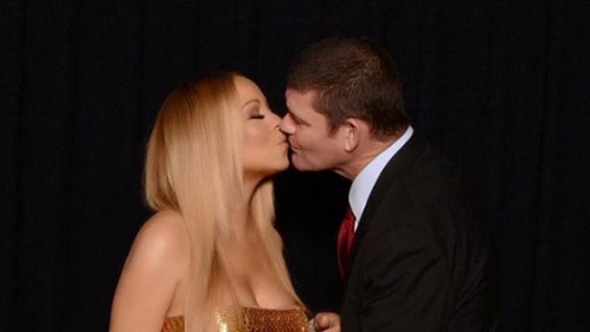 Mariah Carey and James Packer are getting married. Picture: Mariah Carey Instagram