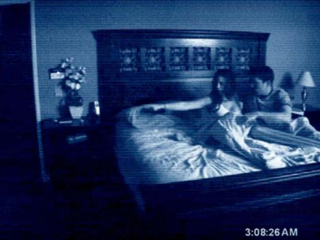 This couple were haunted by their home videos in Paranormal Activity. We've all been there.