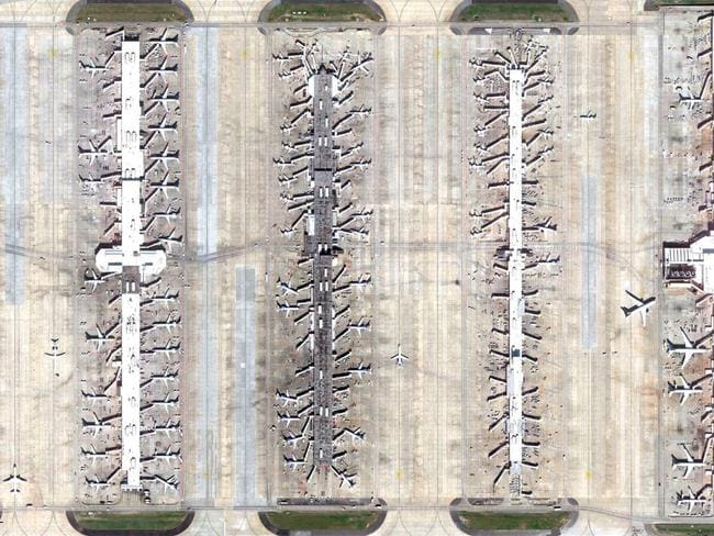 Hartsfield-Jackson Atlanta International Airport, US. Picture: Lauren O'Neil