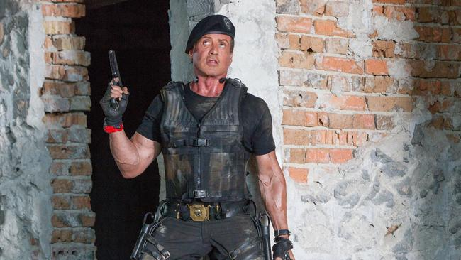 Sylvester Stallone has gathered his increasingly wrinkly mercenaries together for another fun-toting romp.