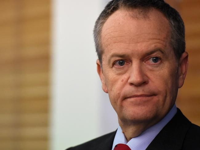 Opposition Leader Bill Shorten has raised concerns about the effects of the negative campaign on LGBTI youth. Picture: Mick Tsikas/AAP