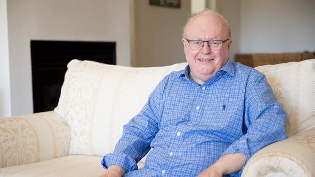 Graham Richardson said Mr Hawke represented a golden age of Australian politics. Source: Ryan Osland/The Australian.